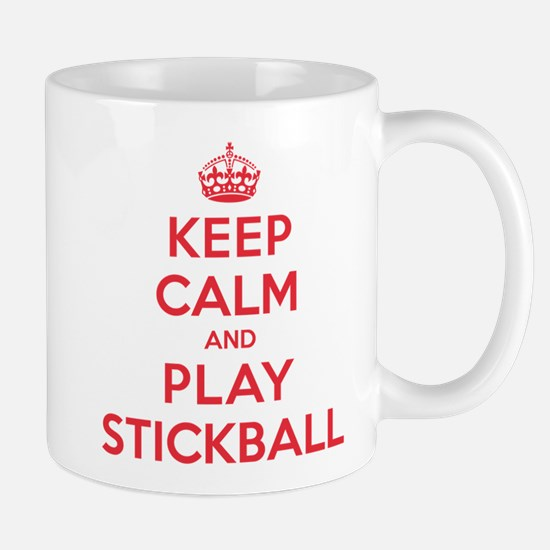 Keep Calm Play Stickball Mug