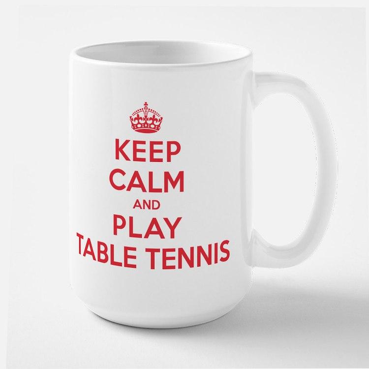 Keep Calm Play Table Tennis Mug