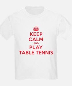 Keep Calm Play Table Tennis T-Shirt