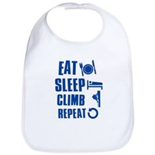 Eat Sleep Climb Bib