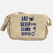 Eat Sleep Climb Messenger Bag