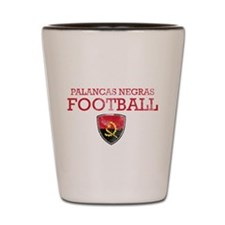 Angola Football Shot Glass