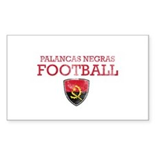 Angola Football Decal