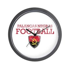 Angola Football Wall Clock