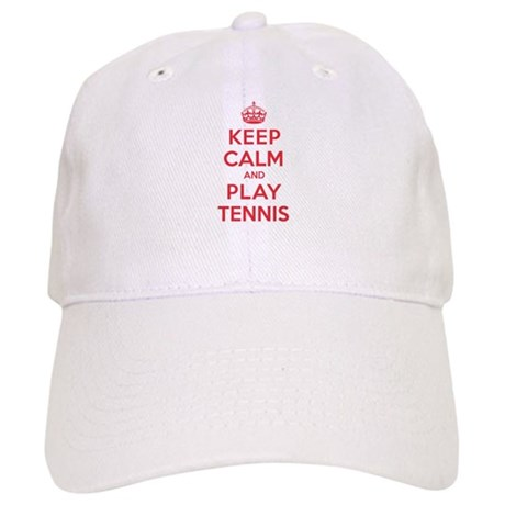 Keep Calm Play Tennis Cap