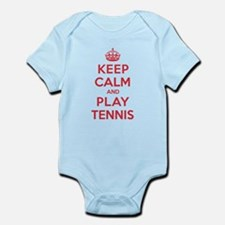 Keep Calm Play Tennis Infant Bodysuit