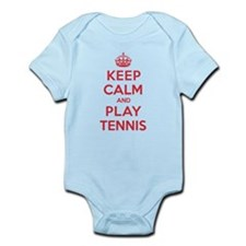 Keep Calm Play Tennis Onesie