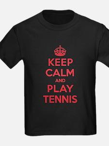 Keep Calm Play Tennis T
