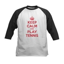 Keep Calm Play Tennis Tee