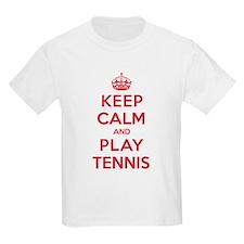 Keep Calm Play Tennis T-Shirt