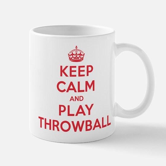 Keep Calm Play Throwball Mug