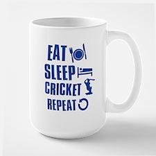 Eat Sleep Cricket Mug