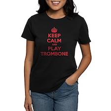 Keep Calm Play Trombone Tee