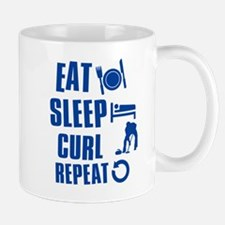 Eat Sleep Curl Mug