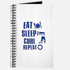 Eat Sleep Curl Journal