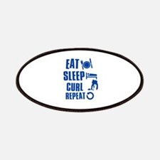 Eat Sleep Curl Patches