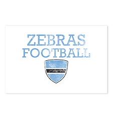 Botswana Football Postcards (Package of 8)