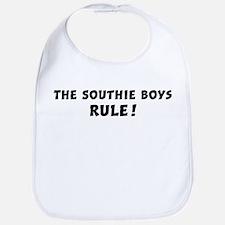 Southie Boys Rule Bib