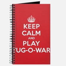 Keep Calm Play Tug-O-War Journal