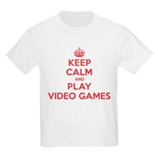 Keep Calm Play Video Games T-Shirt
