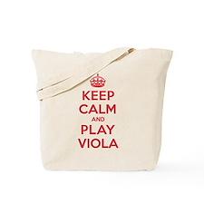 Keep Calm Play Viola Tote Bag