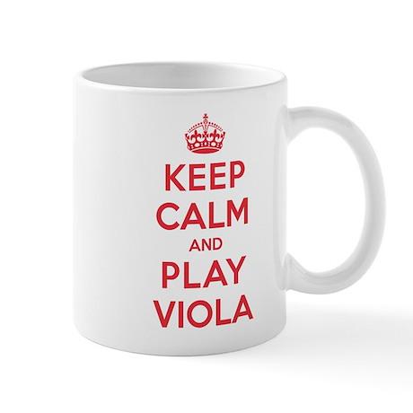 Keep Calm Play Viola Mug
