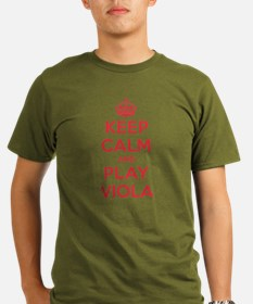 Keep Calm Play Viola T-Shirt