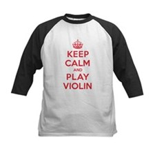 Keep Calm Play Violin Tee