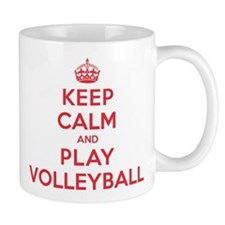 Keep Calm Play Volleyball Mug