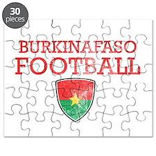 Burkina Faso Football Puzzle