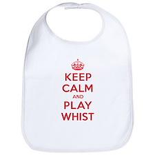 Keep Calm Play Whist Bib