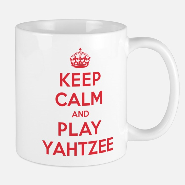 Keep Calm Play Yahtzee Mug