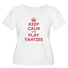 Keep Calm Play Yahtzee T-Shirt
