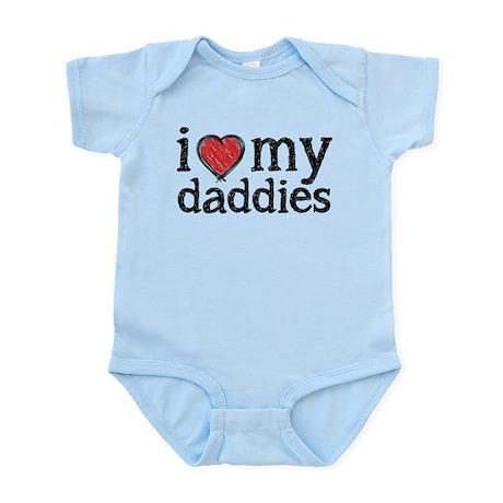 love my daddies Body Suit