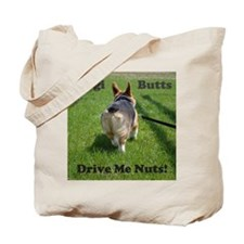 Cute Butt corgis Tote Bag