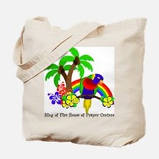 Ring of Fire Parrot Tote Bag