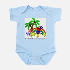 Ring of Fire Parrot Infant Bodysuit
