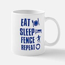 Eat Sleep Fence Mug