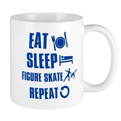 Eat Sleep Figure Skate Mug