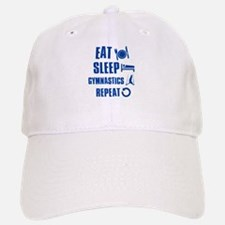 Eat Sleep Gymnastics Baseball Baseball Cap