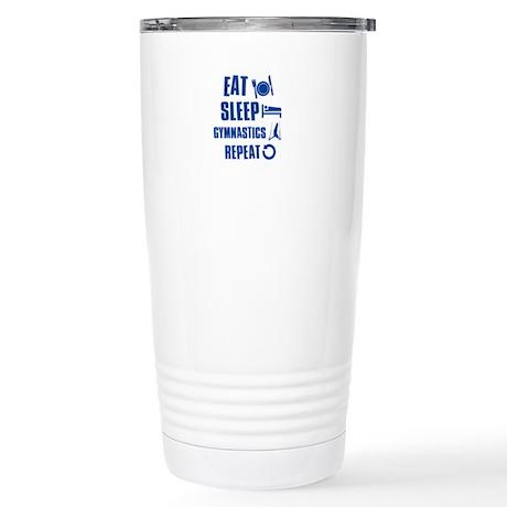 Eat Sleep Gymnastics Stainless Steel Travel Mug