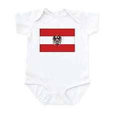 Austria State Flag Infant Bodysuit