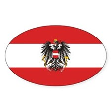 Austria State Flag Decal