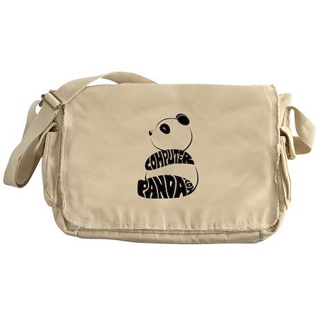Fur Name Panda Messenger Bag