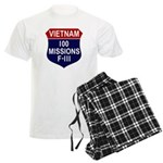 100 Missions Men's Light Pajamas
