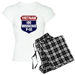 100 Missions Women's Light Pajamas