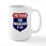 100 Missions Large Mug