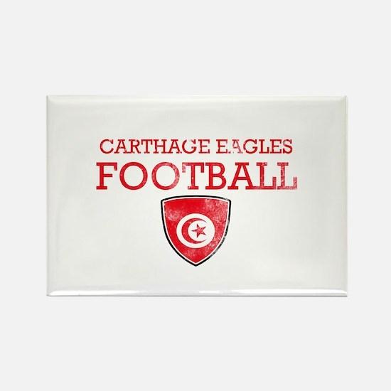 Tunisia Football Rectangle Magnet