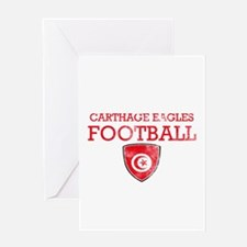 Tunisia Football Greeting Card