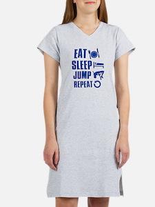 Eat Sleep Jump Women's Nightshirt